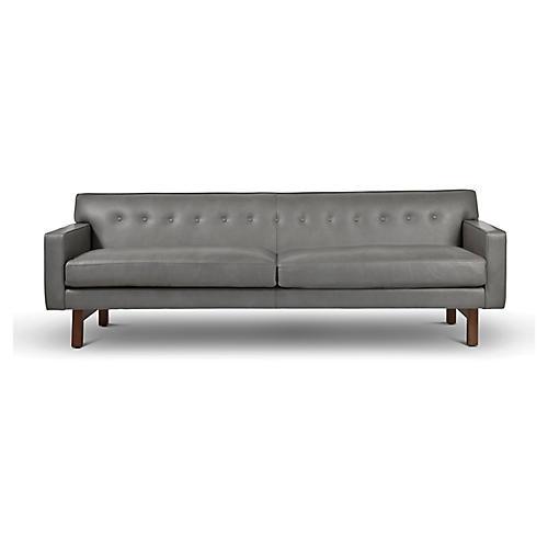 Rehder Sofa, Fog Leather