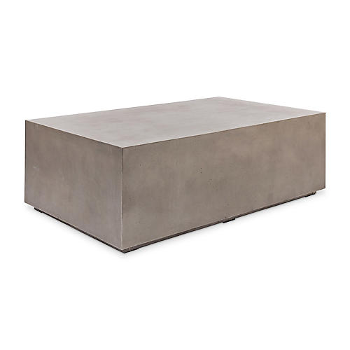 Bloc Coffee Table, Dark Gray