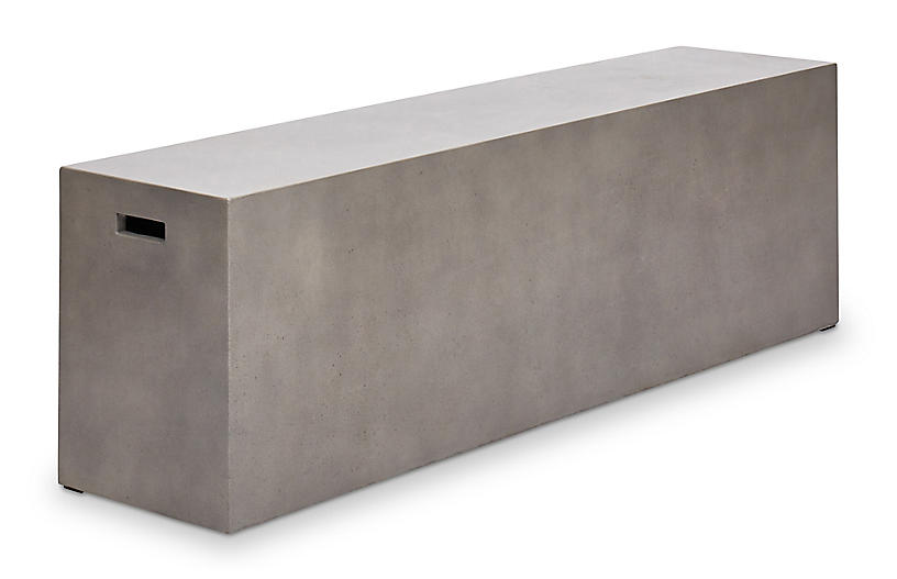 Una Bench, Dark Gray