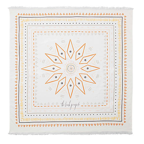 Wanderer Beach Towel, Orange/Multi