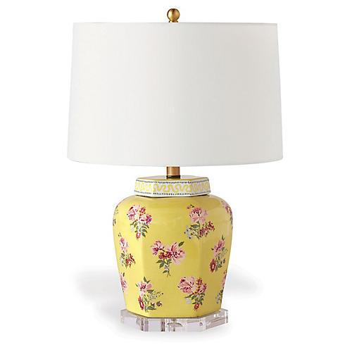 Isleboro Eve Table Lamp, Daffodil