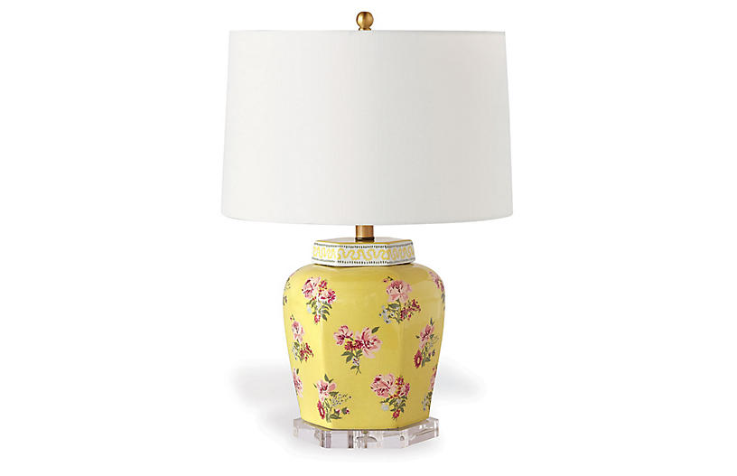 Isleboro Eve Table Lamp, Daffodil