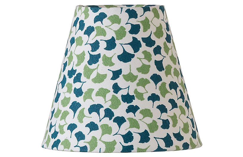 Howards End Clip-on Lampshade, Green