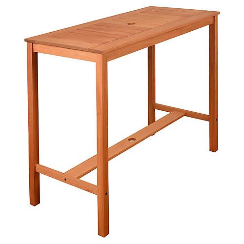 Eurodam Patio Table, Natural