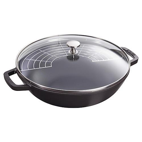 4.5-qt Perfect Pan, Matte Black
