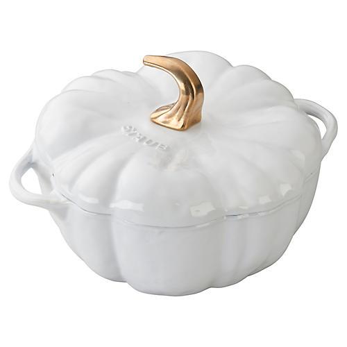 3.5-qt Pumpkin Cocotte, Matte Black
