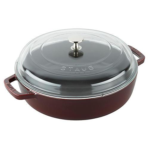 4-Qt Universal Deluxe Pan, Grenadine