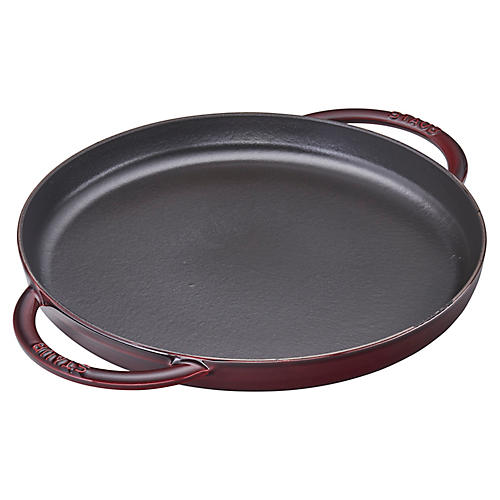 Pure Double-Handled Griddle, Grenadine