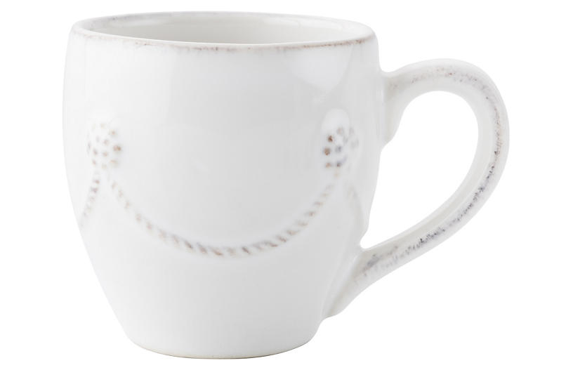 Berry & Thread Espresso Cup, White