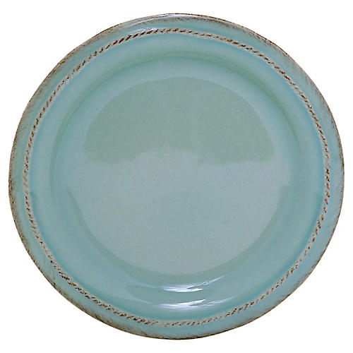 Berry & Thread Cocktail Plate, Ice Blue