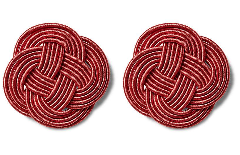 S/2 Gigi Rosettes, Crimson