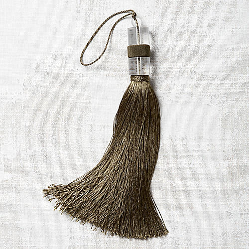 Deco Chair Tassel, Olive