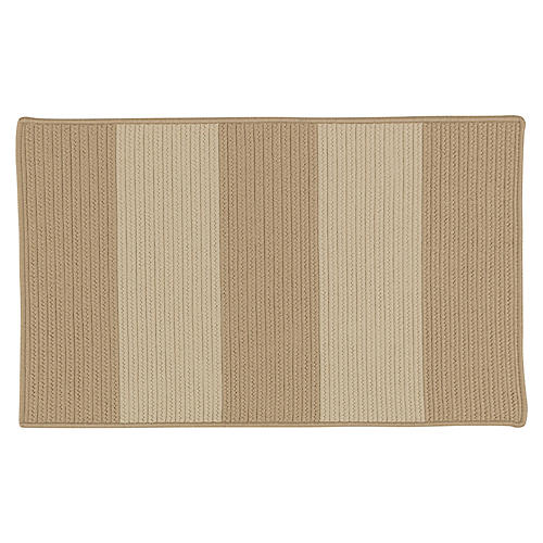 Darien Outdoor Rug, Tan/Natural