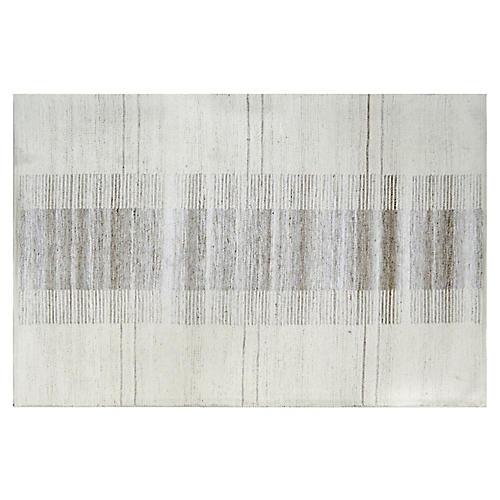 Century Rug, Gray/Ivory
