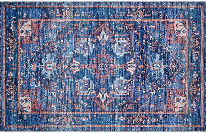 Justina Blakeney, Antigone Rug, Blue/Multi