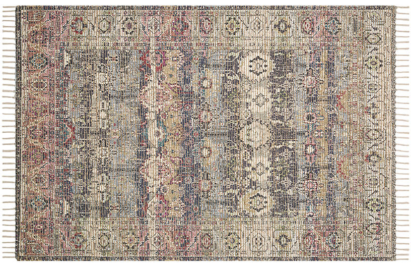 Thebes Rug, Beige/Multi