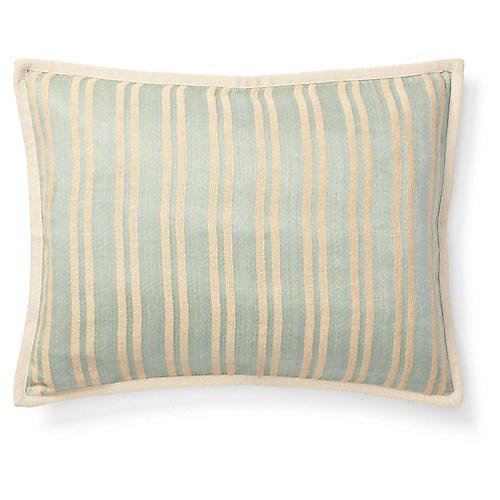 Bretton Pillow, Teal Green