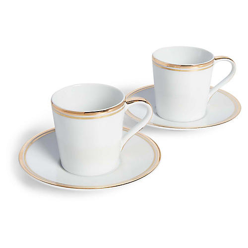 Wilshire Teacups & Saucers