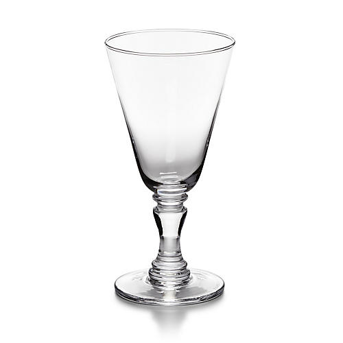 Ethan White-Wine Glass, Clear