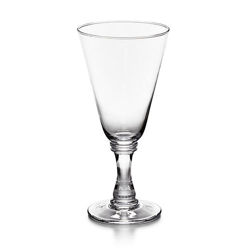 Ethan Red-Wine Glass, Clear