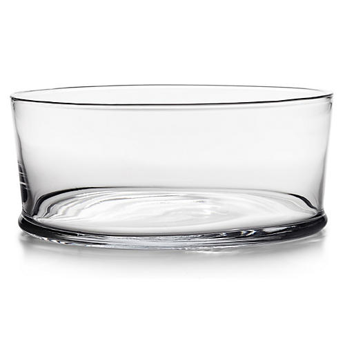 Ethan Serving Bowl, Clear