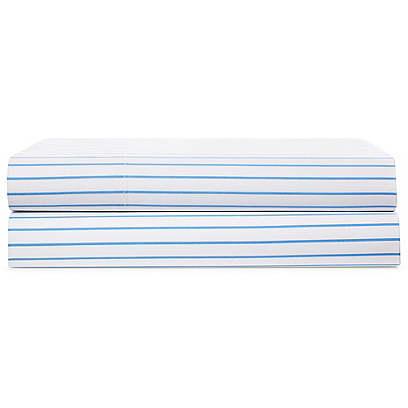 Prescott Stripe Flat Sheet