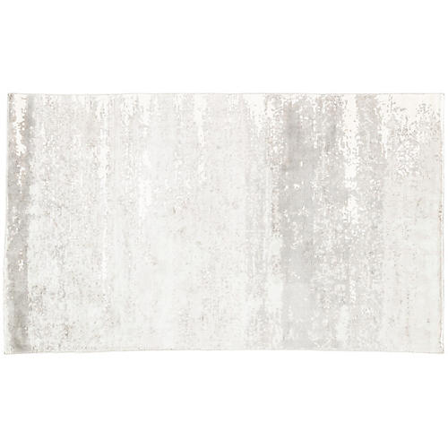 Jeanne Rug, Gray/White