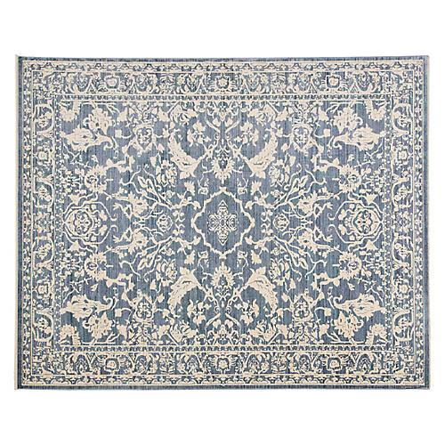 Dorsey Rug, Blue/White