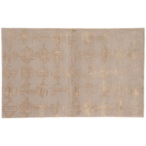 Norbury Rug, Taupe/Gold