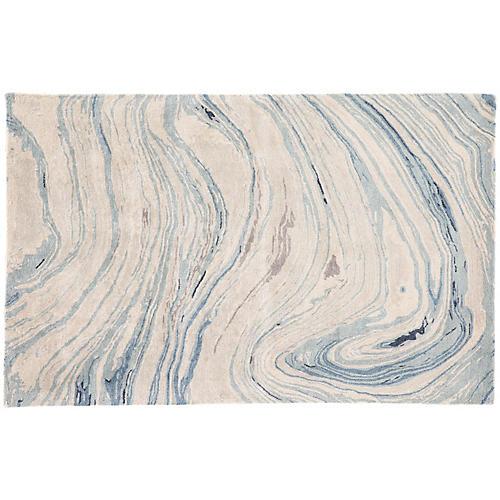 Harriet Rug, Blue/Gray