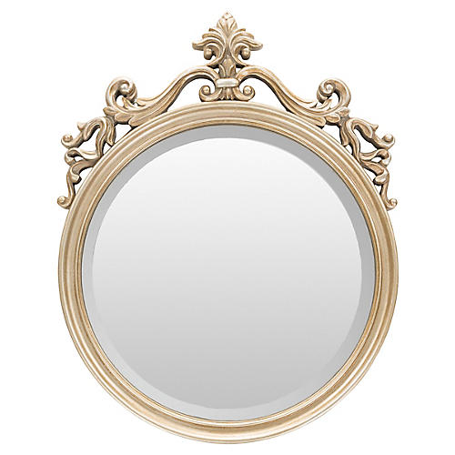England Wall Mirror, Champagne