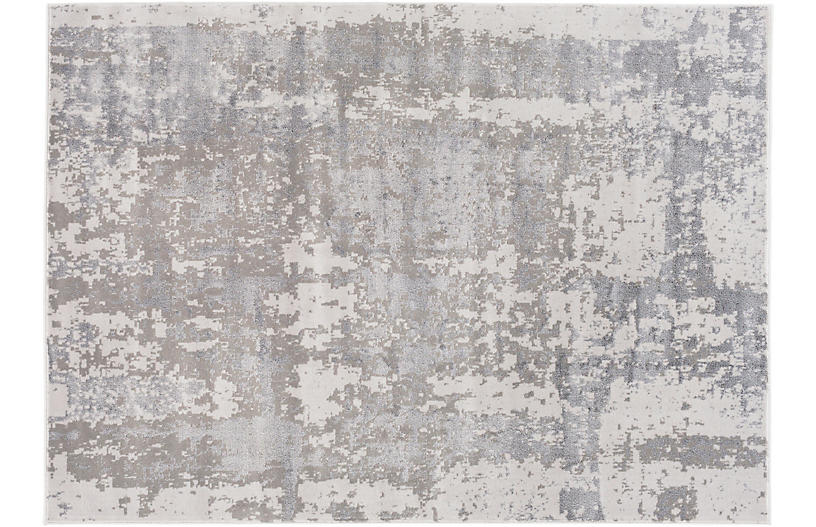 Bronson Rug, Taupe/Charcoal