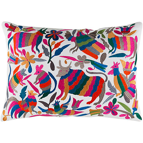 Regan 13x19 Pillow, Pink/Multi