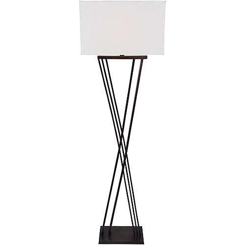 Marsden Floor Lamp, Deep Bronze