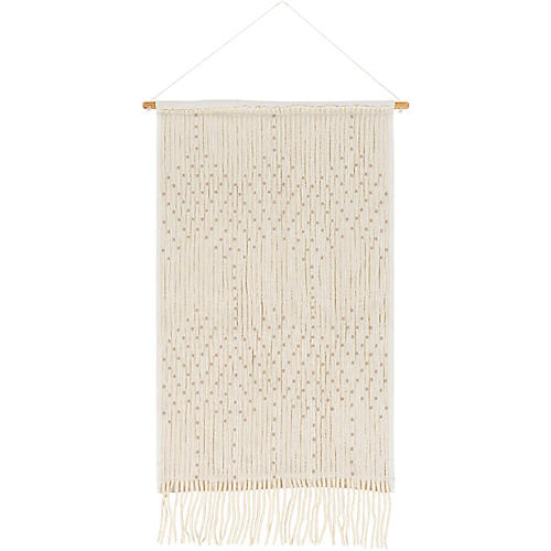 Amare Wall Hanging, White
