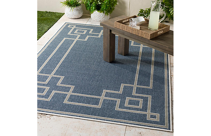 Richmond Outdoor Rug Dark Slate Taupe Outdoor Rugs