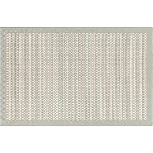 Bounds Outdoor Rug, Seafoam/Ivory