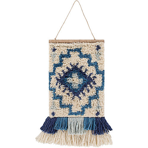 Sasha Wall Hanging, Blue