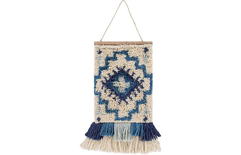 Sasha Wall Hanging, Blue