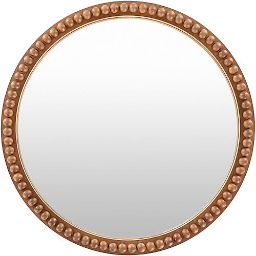 Edie Wall Mirror, Gold
