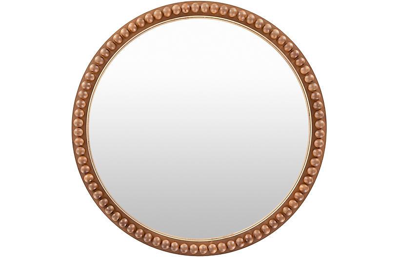 Edie Wall Mirror, Gold