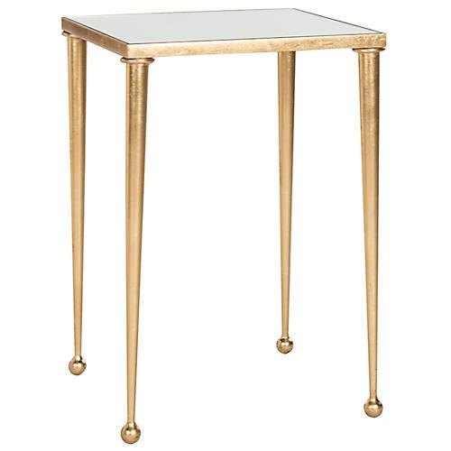 Nancy Side Table, Gold