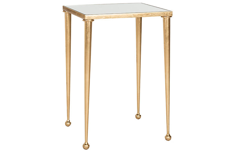 Nancy Side Table, Gold