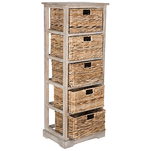 Vedette Storage Unit, Whitewash