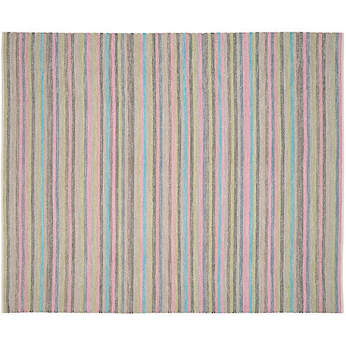 Nonn Kids' Rug, Light Gray/Multi
