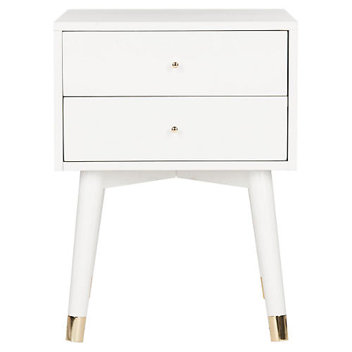Lyla Nightstand, White