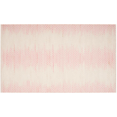 Laan Kids' Rug, Light Pink/Ivory