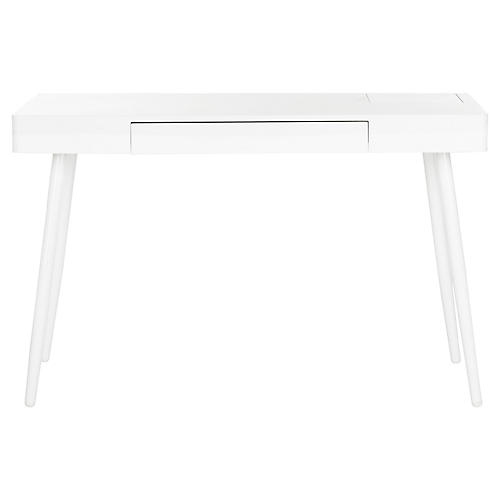Panek Desk, White