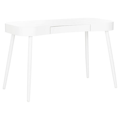 Agna Desk, White