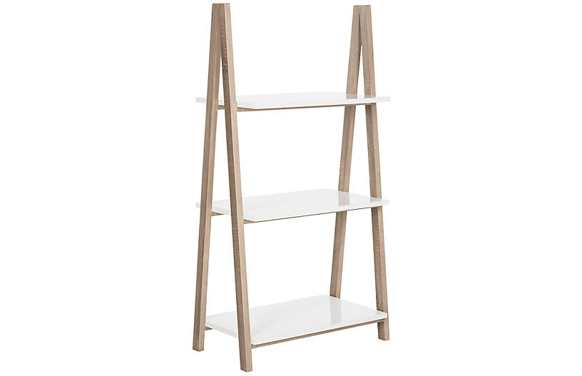Hilde Bookshelf, White